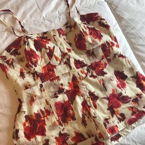 Lauren Conrad button up tank